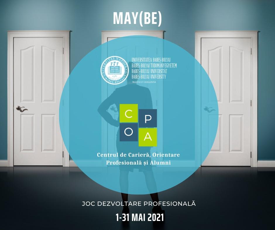 MAY(BE) – Joc de dezvoltare profesională
