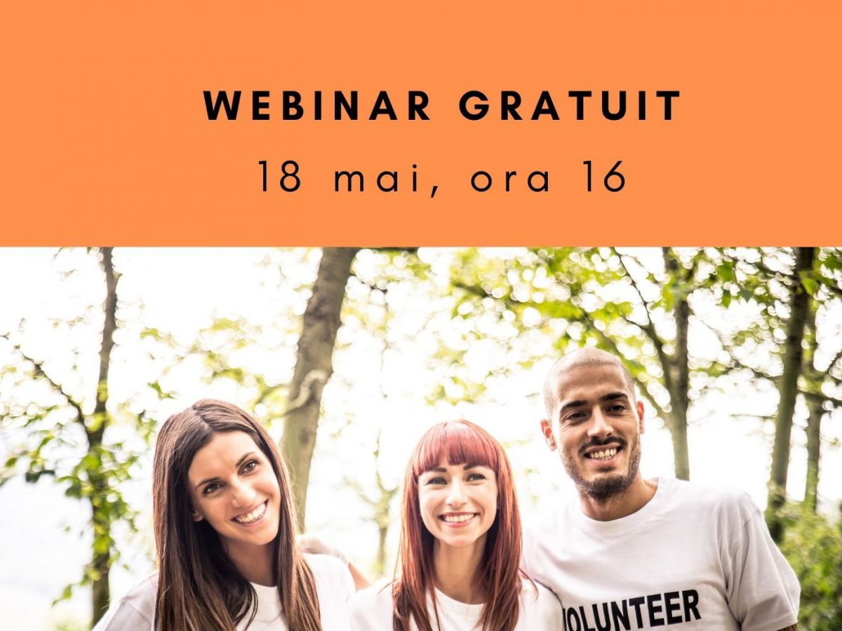 Webinar – Voluntariat online (18 mai)