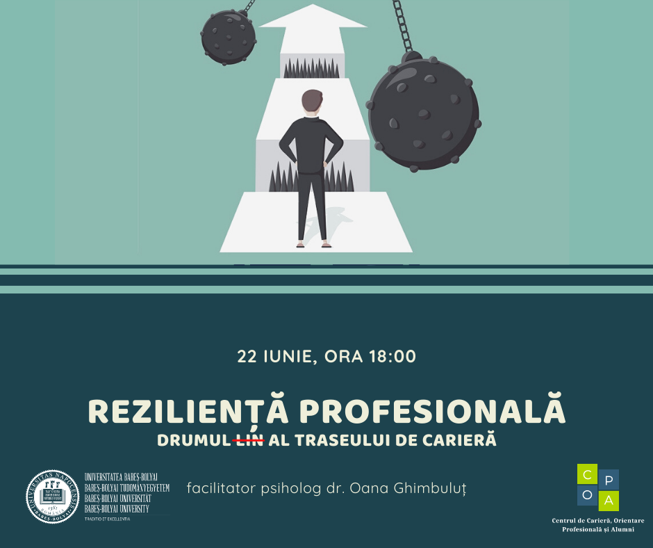 Competențe reziliente în carieră – 22 iunie