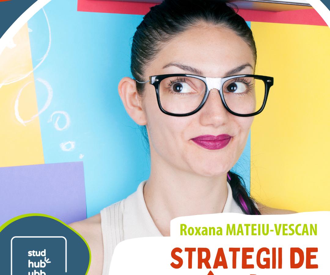 Webinar: Strategii de învățare (8 noiembrie)